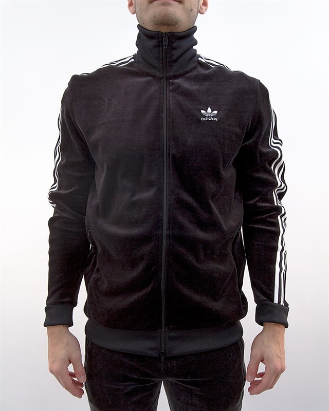 adidas Originals Cozy Tracktop | DX3626 | Svart | Kläder | Footish