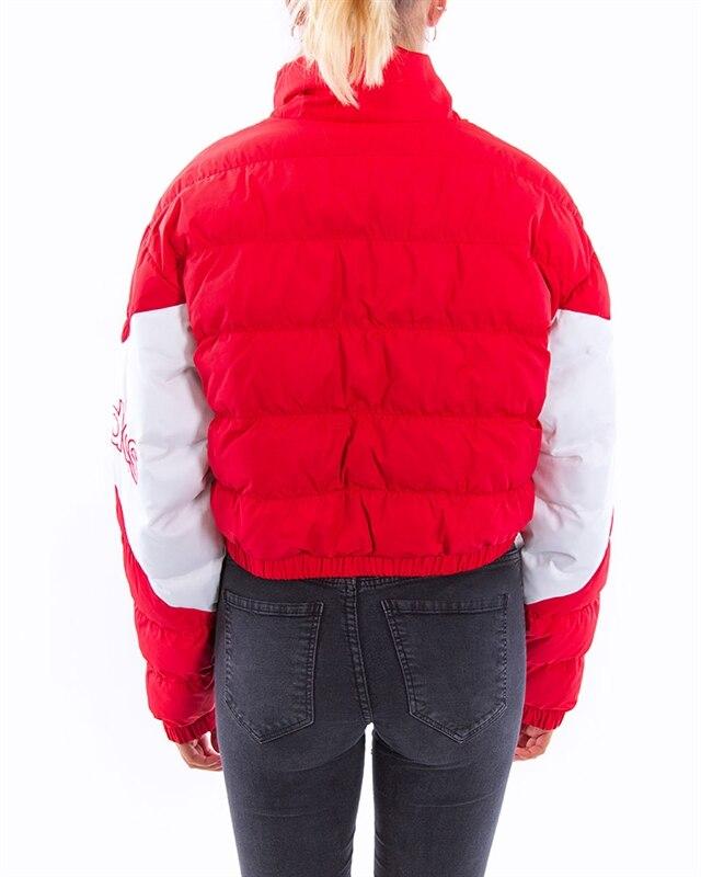 adidas Originals CROPPED PUFFER Winterjacke scarlet
