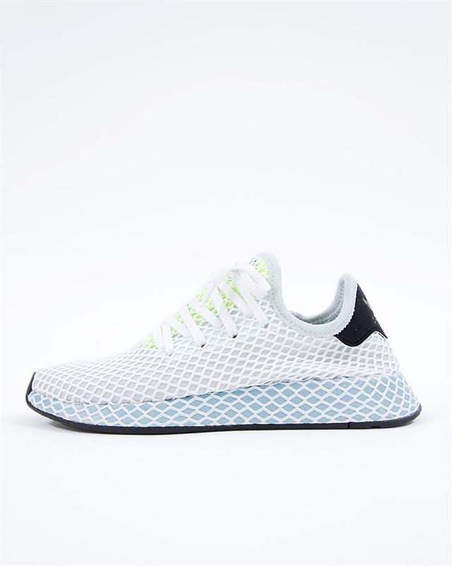adidas Originals Deerupt Runner W | CG6094 | Blå | Sneakers | Skor | Footish