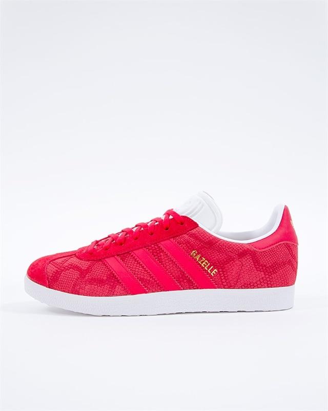 adidas Originals Gazelle W | B41656 | Röd | Sneakers | Skor | Footish