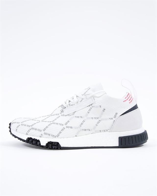 adidas Originals NMD Racer GTX PK | BD7725 | Vit | Sneakers | Skor | Footish