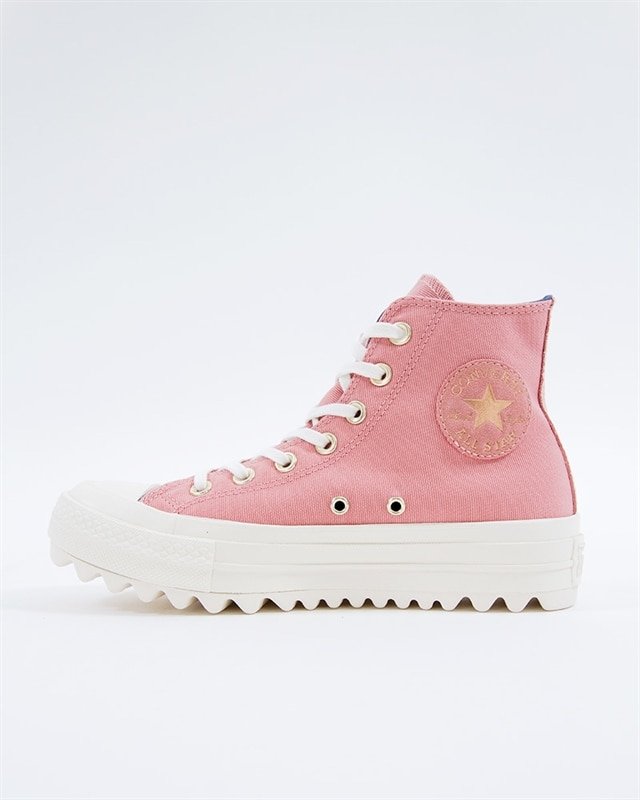 Converse All Star Lift Ripple HI 561670C Rosa Footish: If you´re into sneakers
