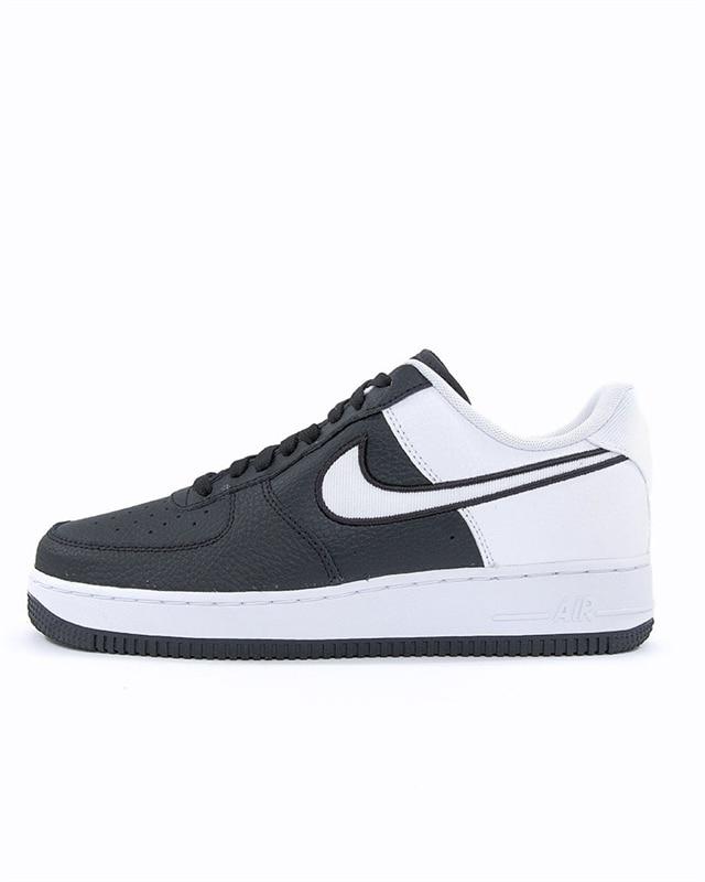Nike air Force 1'07 Samt schwarz