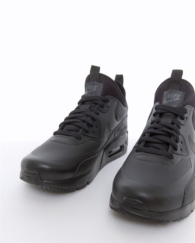 Shoes NIKE Air Max 90 Ultra Mid Winter 924458 004 Black