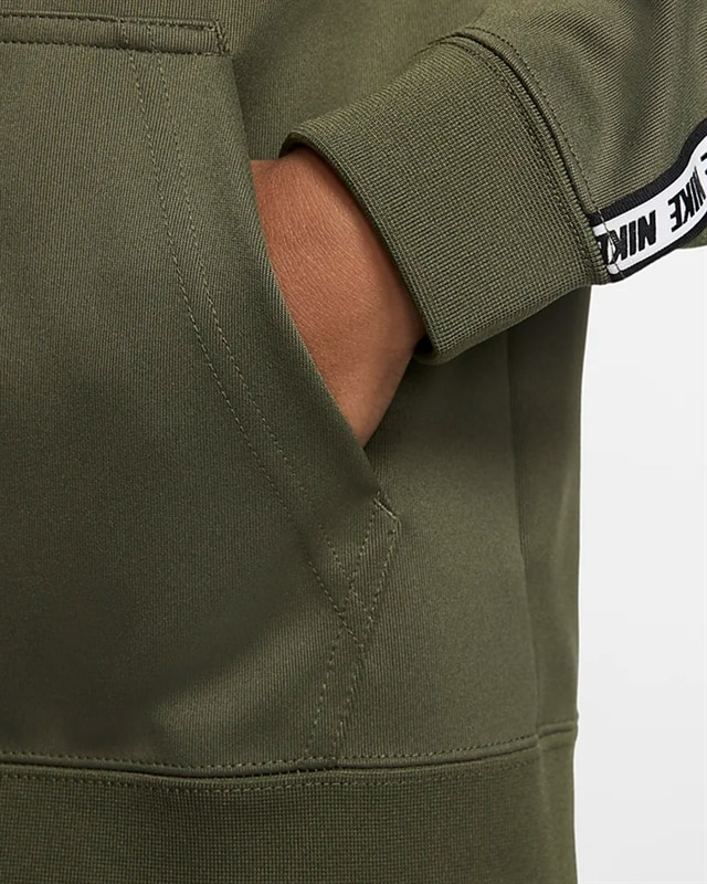 Kids NSW Repeat FZ Poly Hoodie Olive Youth S Olive