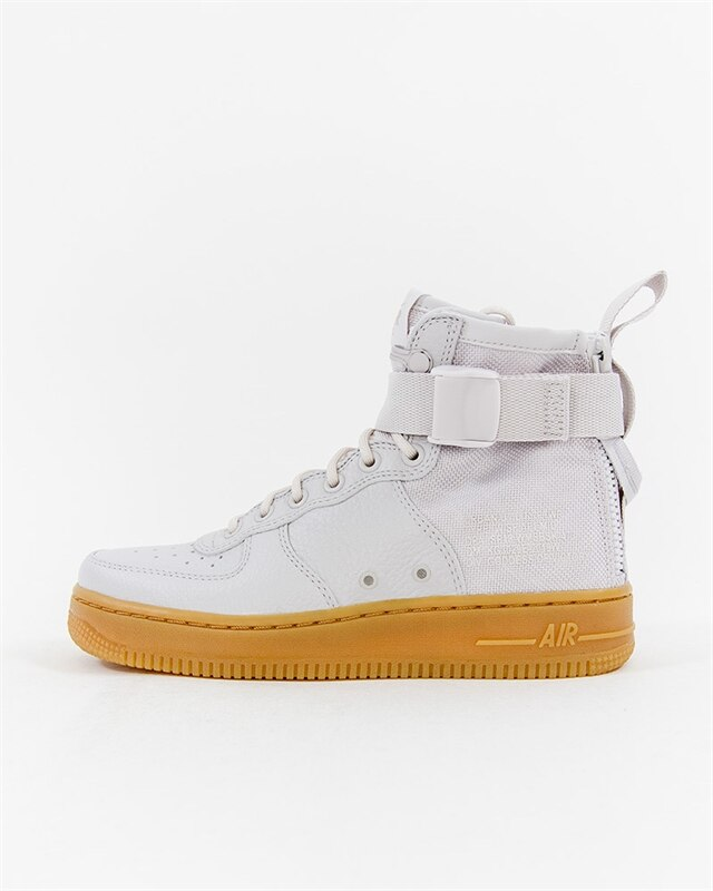 Nike Wmns SF Air Force 1 Mid Gray AA3966 005 Footish: If you´re into sneakers